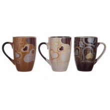 BANQUET hrnek Coffee Lovers 3 assorted 60KRSCD00412-A