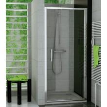 RONAL TOPP TOP-Line jednokřídlé dveře 90 cm, aluchrom/čiré TOPP09005007
