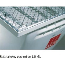 ACO Allround Rošt 400 x 200mm tahokov 35580