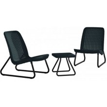 KETER RIO PATIO Set balkonový, antracit 17197637