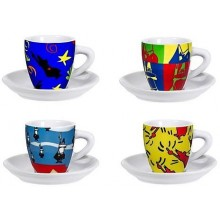 BIALETTI Set Pop Art, šálky 4 ks 3010199315