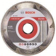 BOSCH Best for Marble Diamantový dělicí kotouč, 125 x 22,23 x 2,2 x 3 mm 2608602690