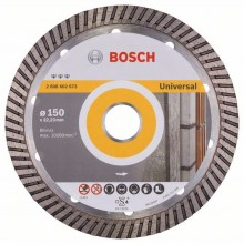 BOSCH Best for Universal Turbo Diamantový dělicí kotouč, 150 x 22,23 x 2,4 x 12 mm 2.608.602.673