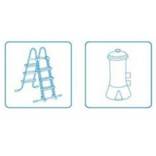INTEX EASY SET POOL 4,57 x 1,07 m s katrušovou filtrační pumpou ( 12 V ) 26166GN