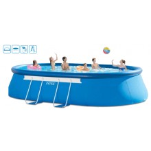 INTEX Bazén Oval Frame Pools 549 x 305 x 107 cm, 28192GN