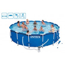 INTEX Bazén Metal Frame Pool 457 x 122 cm, 28236GN