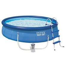 INTEX Bazén Easy Set Pools 457 x 107 cm s kartušovou fitrací, 28166