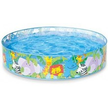 INTEX Dětský bazén Snap-Set-Pool Happy Animals 158474NP