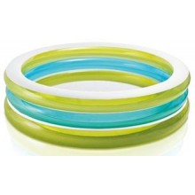 INTEX Bazén Swim Center See-through Round 57489NP