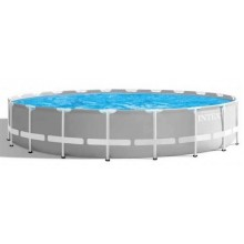 INTEX PRISM FRAME POOLS SET 6.10 m x 1.32 m S kartušovou filtrací 26756NP