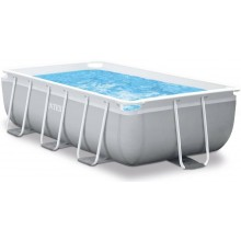 INTEX Bazén Prism Frame Rectangular Pools 4m x 2m x 1m, s filtrací 26788NP