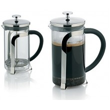 KELA Konvička na čaj a kávu French Press 700 ml, nerez KL-10851