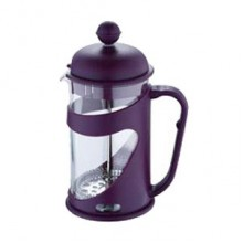 RENBERG Konvička na čaj a kávu French Press 350 ml fialová RB-3100fial