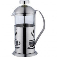 RENBERG Konvička na čaj a kávu nerez French Press 600 ml RB-3104