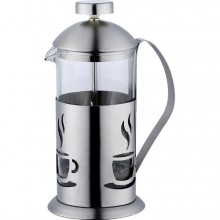 RENBERG Konvička na čaj a kávu nerez French Press 800 ml RB-3105