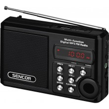 SENCOR SRD 215 B Rádio s USB/MP3 35039901