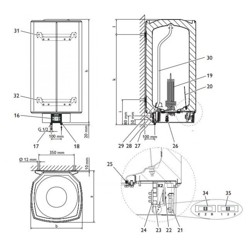 stiebel eltron n st nn z sobn k shz 80 lcd 231253. Black Bedroom Furniture Sets. Home Design Ideas