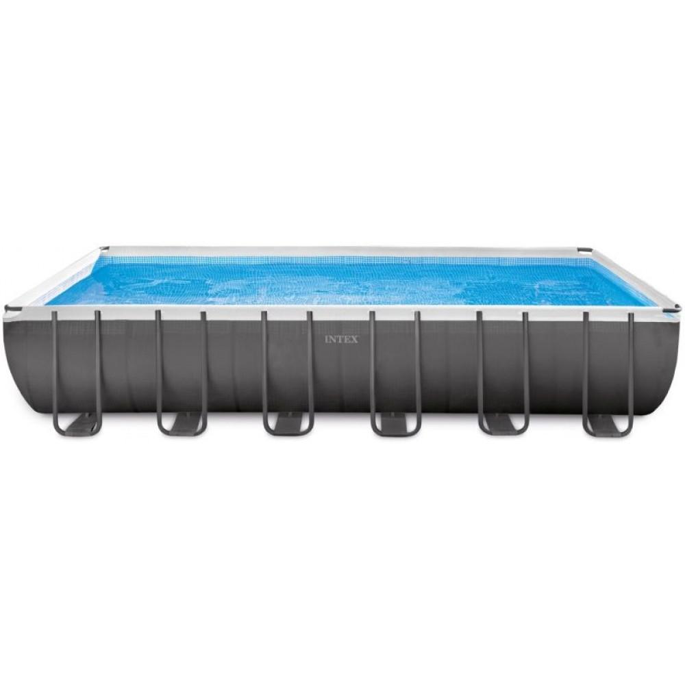 intex ultra frame rectangular pool 7 32 x 3 66 x 1 32 m. Black Bedroom Furniture Sets. Home Design Ideas
