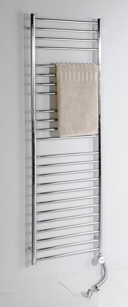 SAPHO LINA 0111-01 Koupelnový radiátor 500x800mm, 151W, broušená nerez