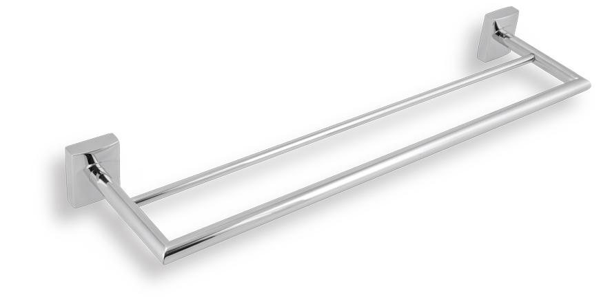 NOVASERVIS METALIA 12 dvojitý držák ručníků 450 mm chrom 0224,0