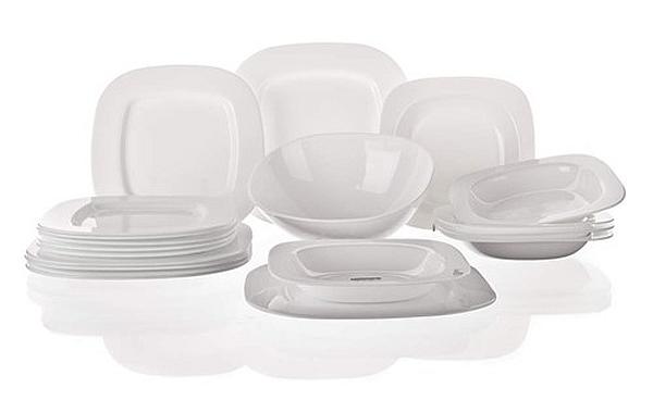 SQUERA Jídelní sada talířů 19-ti dílná A1491