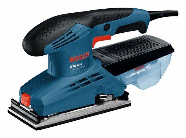 BOSCH GSS 23 A vibrační bruska 0601070400