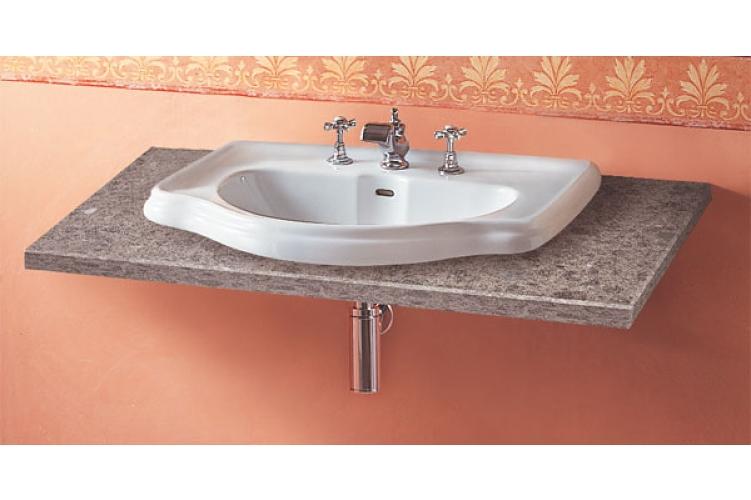 SAPHO RETRO 103001 keramické umyvadlo 62x45,5cm, zápustné