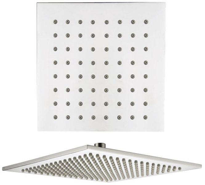 SAPHO 1203-06 Hlavová sprcha, čtverec 30x30 cm, mosaz/chrom