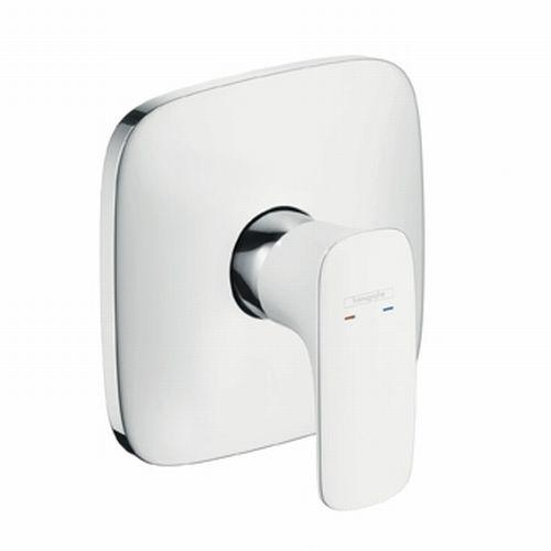 Hansgrohe PURAVIDA Páková sprchová baterie pod omítku, bílá/ chrom 15665400