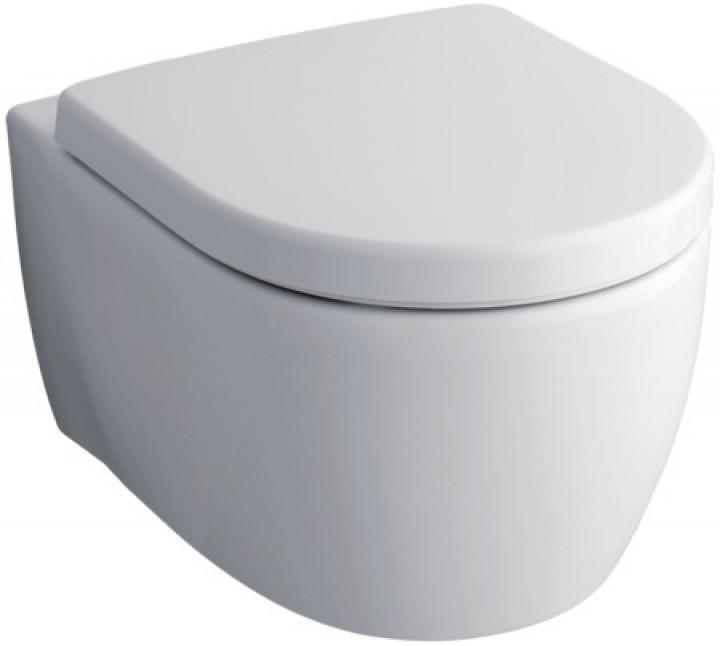 KERAMAG Icon klozet závěsný, s hlubokým splachováním, 6L, bílá + KeraTect 204000600
