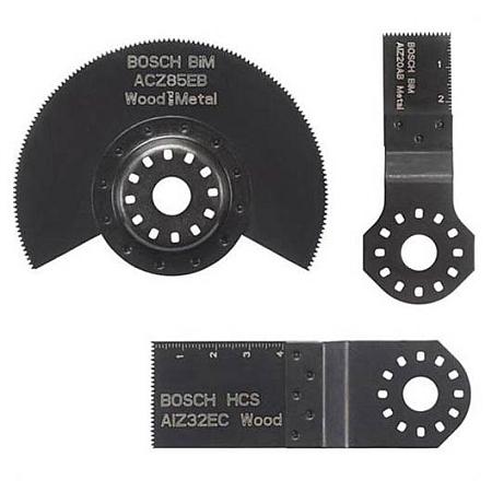 BOSCH 3 dílná sada multifunkčního přístroje 2608662342
