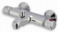 NOVASERVIS AQUALIGHT termostatická baterie vanová nástěnná 150 mm chrom 2620/1,0