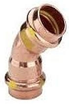 VIEGA CU Profipress plyn, oblouk 2626 15/45 345600V