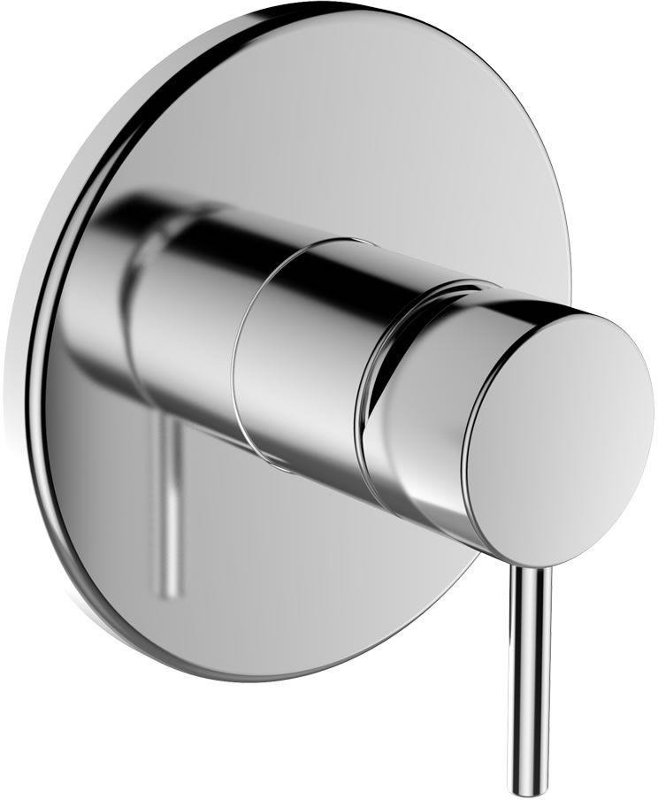 LAUFEN TWINPLUS Vrchní sada podomítkové sprchové baterie pro Simibox 3.3162.6.004.000.1