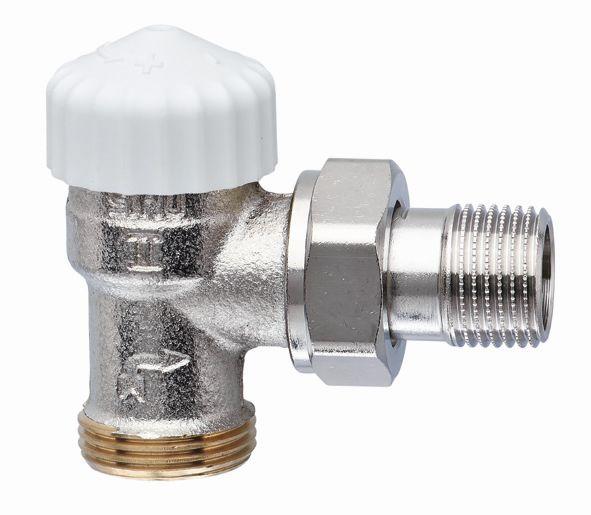 """HEIMEIER radiátorový ventil V-exact II DN 15-3/4"""" rohový, vnější závit 3719-02.000"""