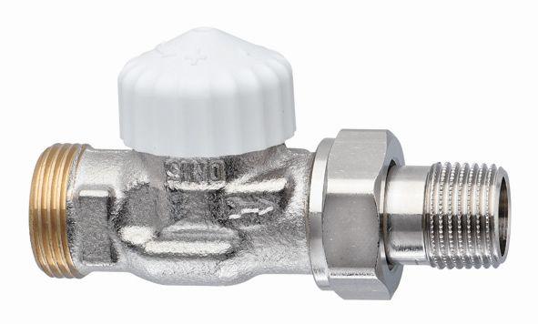 """HEIMEIER radiátorový ventil V-exact II DN 15-3/4"""" přímý, vnější závit 3720-02.000"""