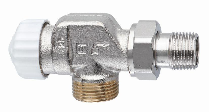 """HEIMEIER radiátorový ventil V-exact II DN 15-3/4"""" axiální, vnější závit 3730-02.000"""