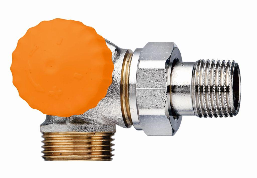 "HEIMEIER termostatický ventil Eclipse 1/2"" (DN 15), úhlový, levý s vnějším záv 3938-02.000"