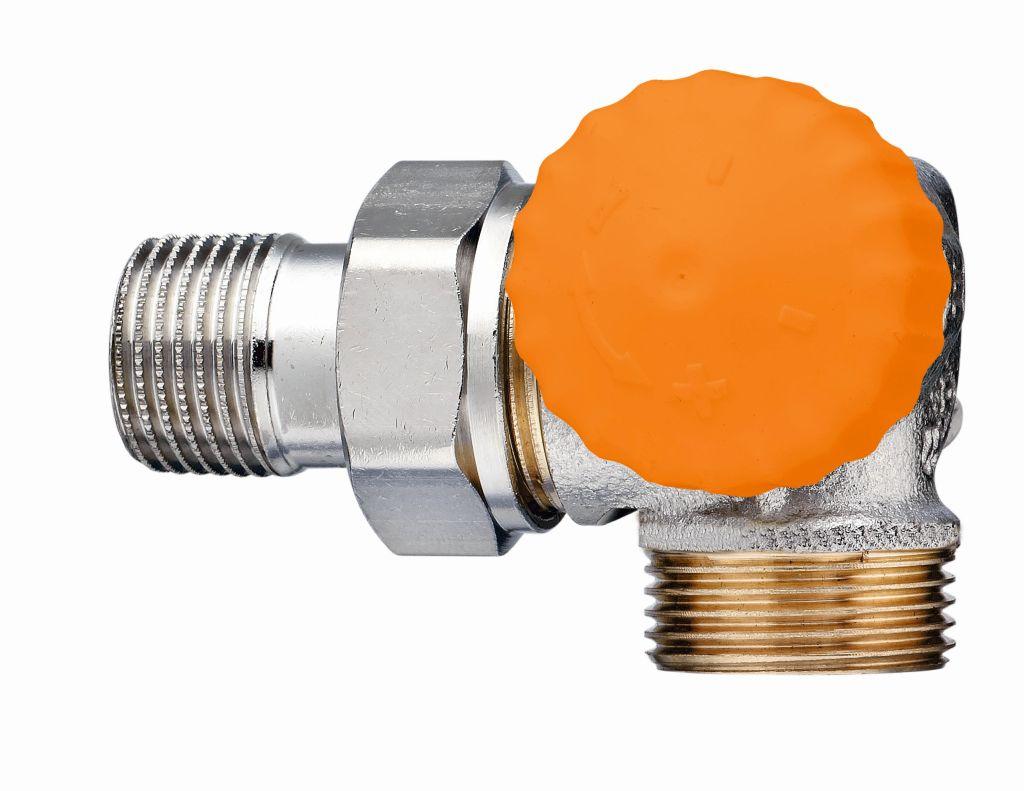 """HEIMEIER termostatický ventil Eclipse 1/2"""" (DN 15), úhlový,pravý s vnějším záv 3939-02.000"""