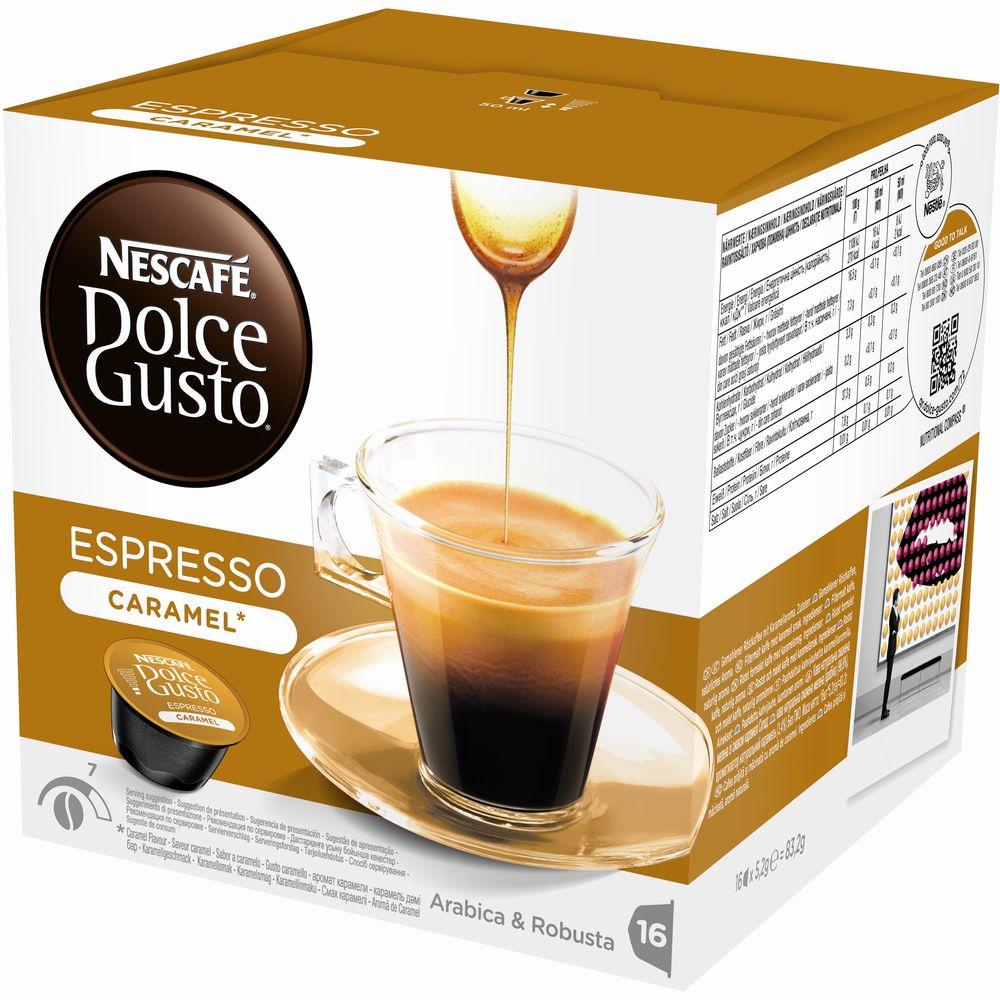Kapsle Nescafé ESPRESSO Caramel 16 ks k Dolce Gusto