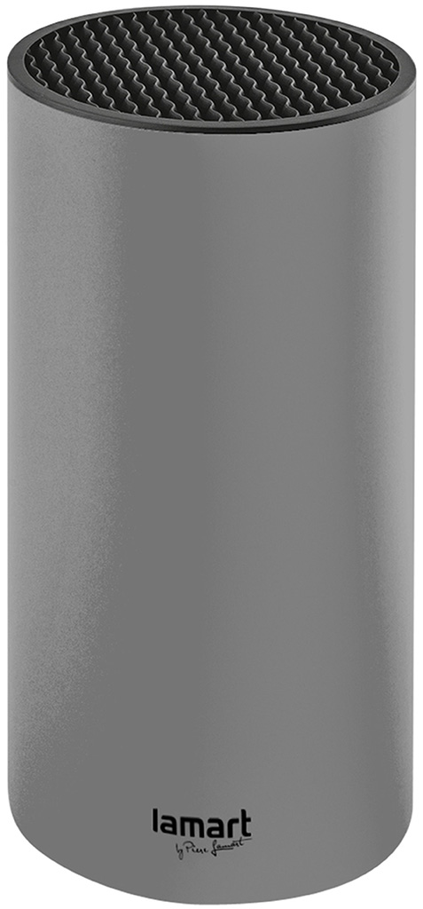LAMART LT2083 Blok na nože 22,5cm šedý, 42002628