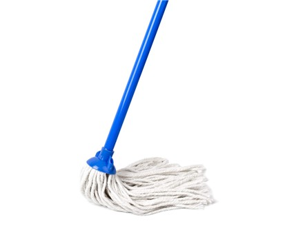 BRILANZ Mop třásňový bavlněný s tyčí 43KWL10305BR
