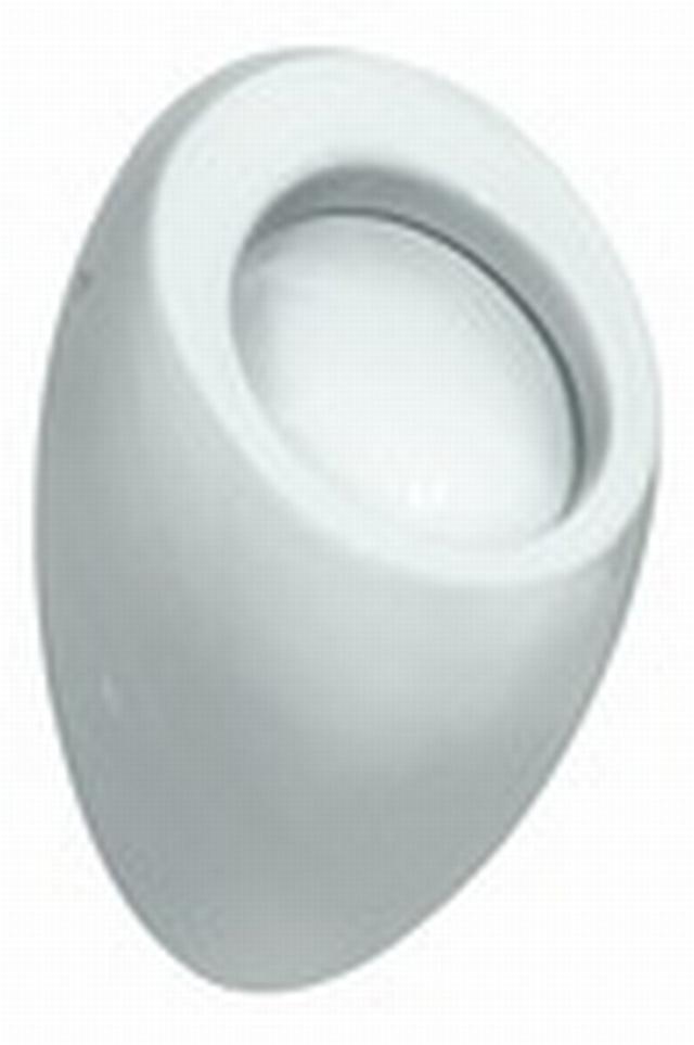 LAUFEN IL BAGNO ALESSI ONE Urinál včetně montážní sady, bez mušky, LCC, 8.4097.5.400.000.1