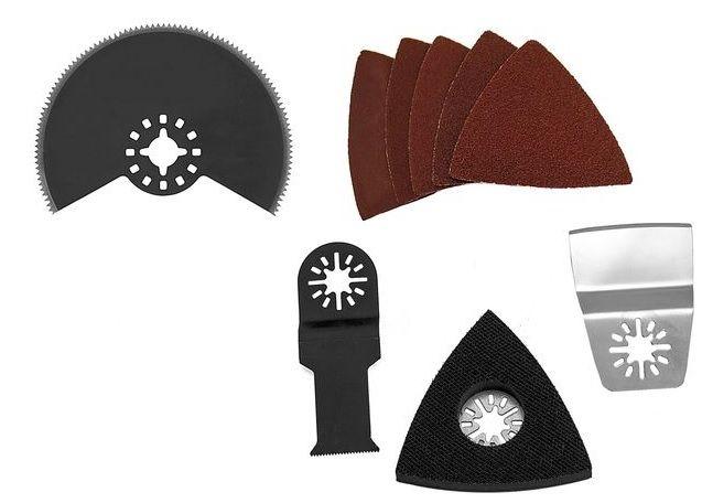 GÜDE Sada nástrojů k mutifunkčnímu nářadí (13 ks) 58166
