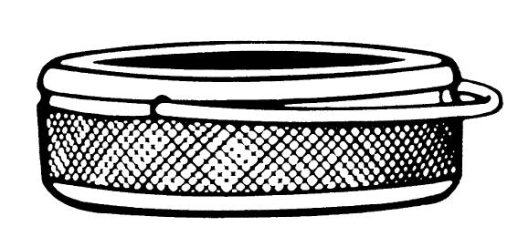 HEIMEIER zabezpečení proti odcizení pomocí zabezpečovacího kroužku 6020-01.347