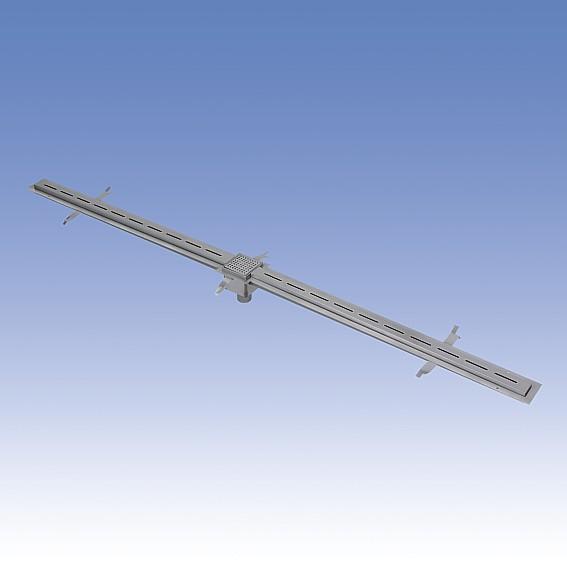 SANELA Nerezový štěrbinový žlábek pro koupaliště SLKN 01, délka 2 m 69010