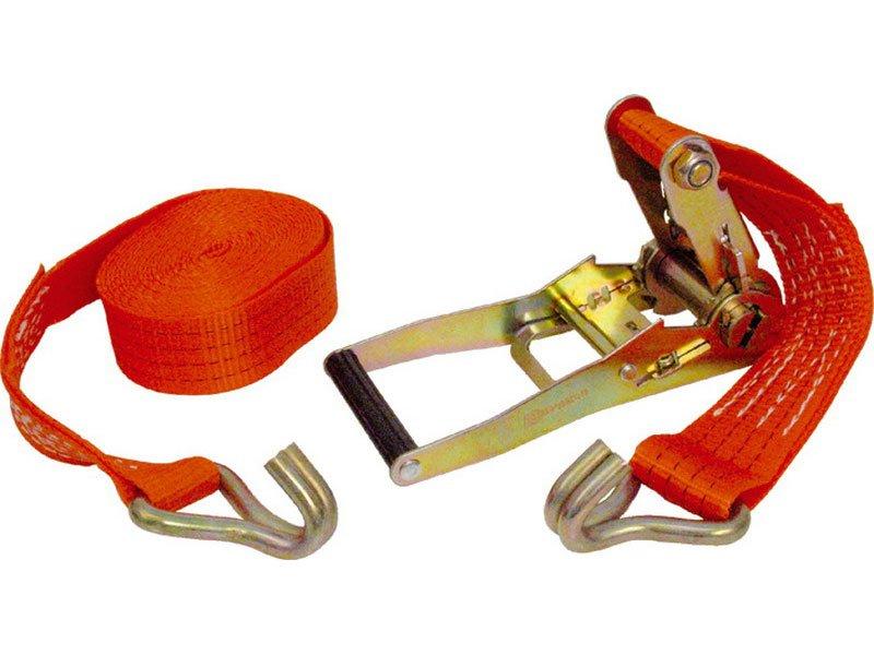 EXTOL PREMIUM pás upínací ráčnový s háky, 10m x 50mm 82375