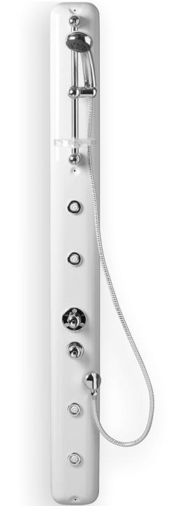 TEIKO Paros Eco Therm sprchový masážní panel bílý V261167N65T01021