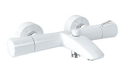 KLUDI Zenta vanová a sprchová termostatická baterie chrom/white 351019138