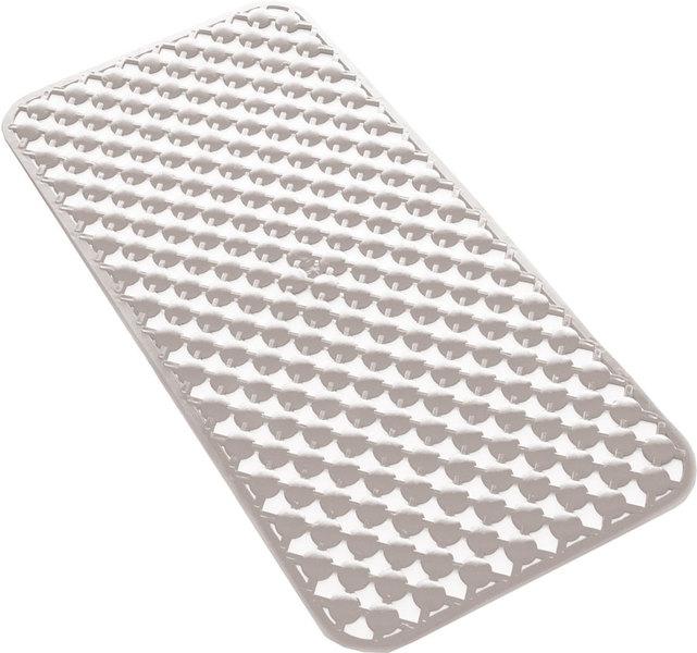 SAPHO GEO podložka do vany 36x71cm s protiskluzem, kaučuk, bílá 97367102